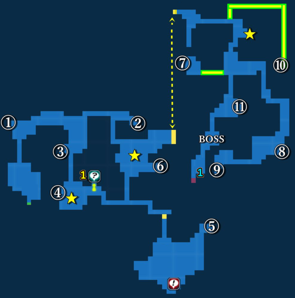 Map of Smokey Caves