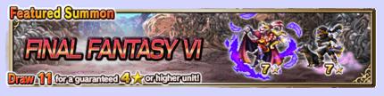 Featured Summon for Final Fantasy VI