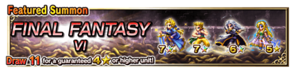 Featured Summon for Final Fantasy VI