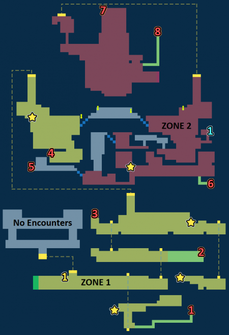 Encounter Map of Mobreeze Airship Factory