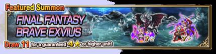 Featured Summon for Final Fantasy Brave Exvius