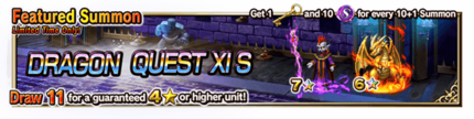 Featured Summon for Dragon Quest XI S