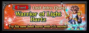 Warrior of Light Bartz