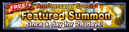 1st Year Anniversary Celebration Summon