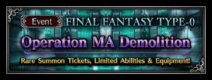 Operation MA Demolition (Rerun)