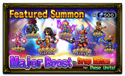 Unit Release: Garnet and Freya