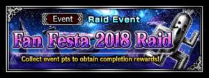 Fan Festa 2018 Raid