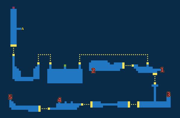 Map for Lunatic Pandora - Exploration