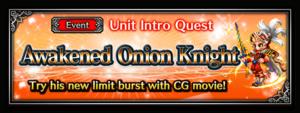 Awakened Onion Knight