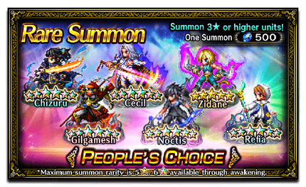 Featured Summon for People's Choice
