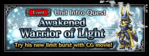Awakened Warrior of Light