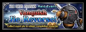 Vanquish Jie Revorse! (Rerun)