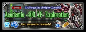 Academia -400 AF- Exploration