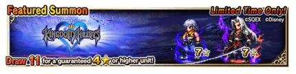Featured Summon for Kingdom Hearts