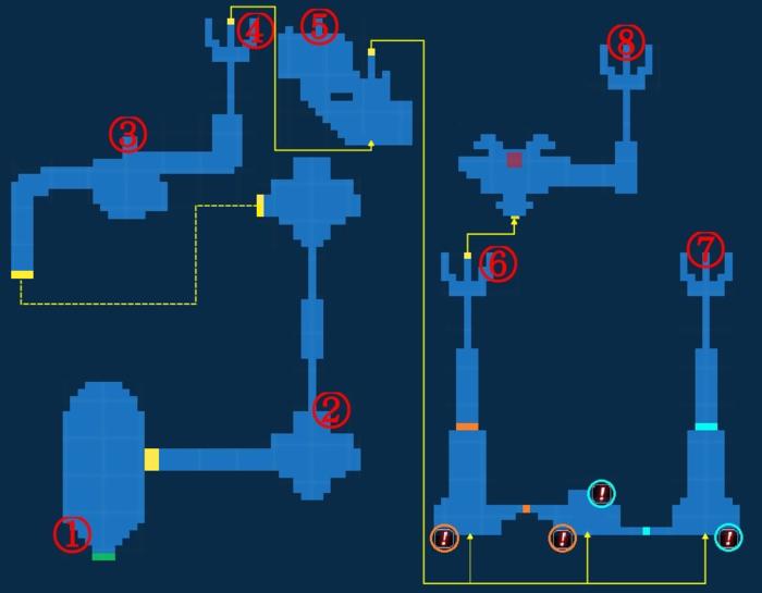 Map for Shrine of Ru'Avitau - Exploration