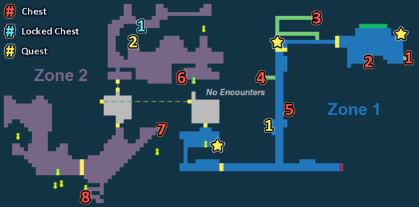 Encounter Map of Inside Labor Camp