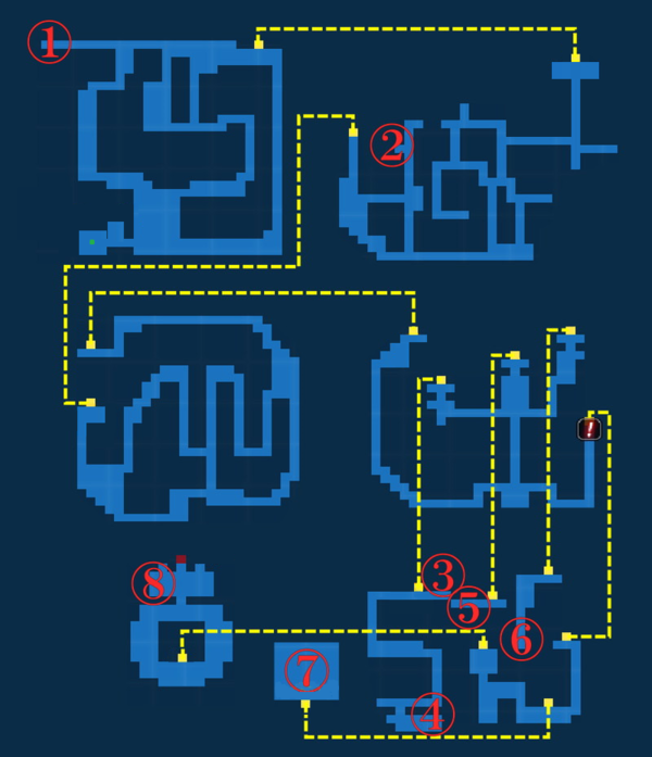 Map for Tower of Zot - Exploration