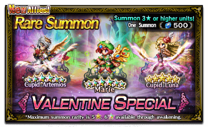 Featured Summon for Valentine Special