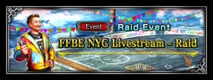 FFBE NYC Livestream - Raid