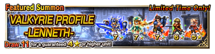 Featured Summon for VALKYRIE PROFILE -LENNETH-