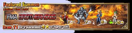 Featured Summon for Fullmetal Alchemist Brotherhood