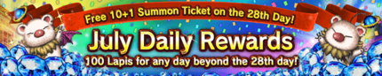 June Daily Login Rewards