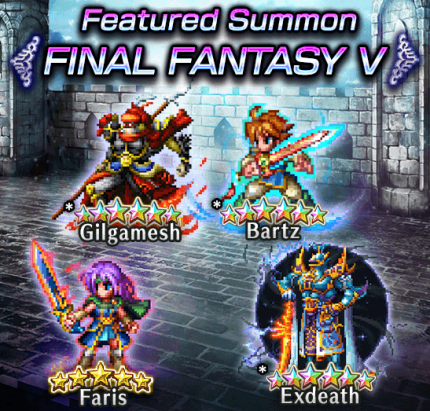 Featured Summon Final Fantasy V