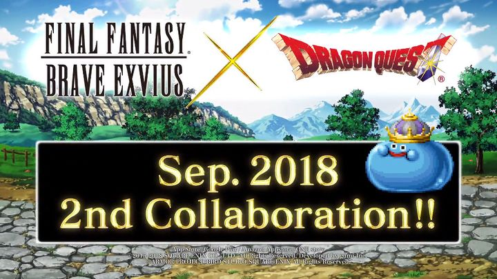 FFBE x Dragon Quest 2nd Collaboration