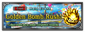 Golden Bomb Rush!