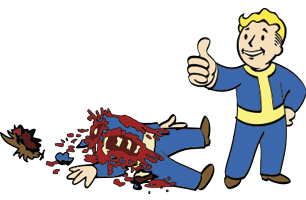Bloody Mess (perk)/Fallout 4 - The Vault Fallout Wiki