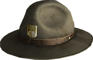 Park Ranger hat - The Vault Fallout Wiki - Everything you need to know  about Fallout 76 6bfca3e0a15