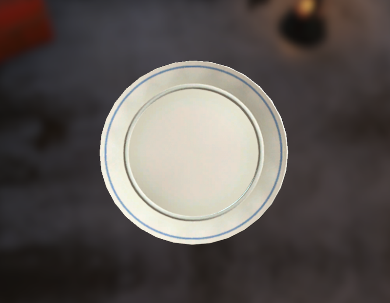 Clean White Plate The Vault Fallout Wiki Everything