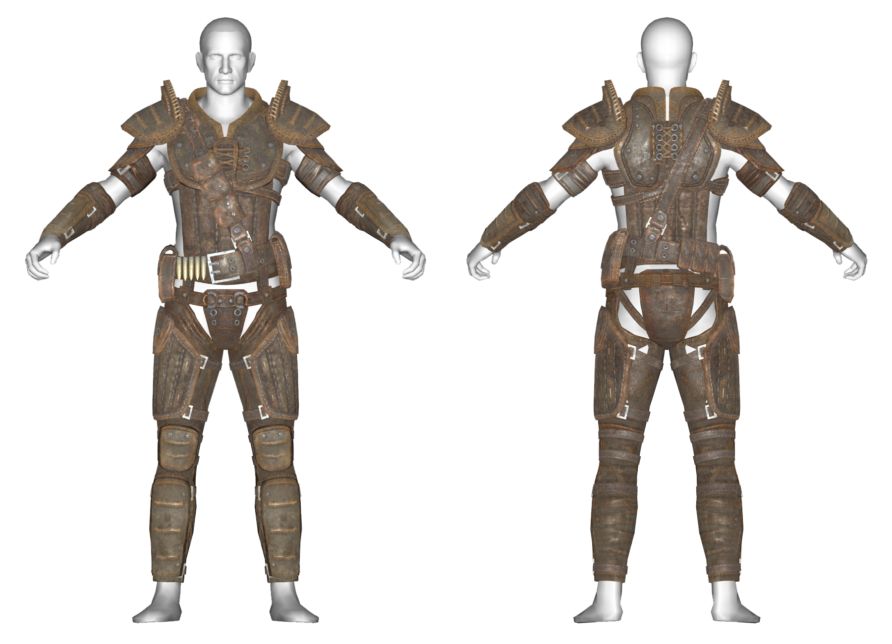 Heavy Leather Armor The Vault Fallout Wiki Everything