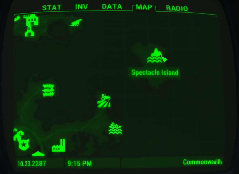 Spectacle Island Map Spectacle Island   The Vault Fallout Wiki   Everything you need to