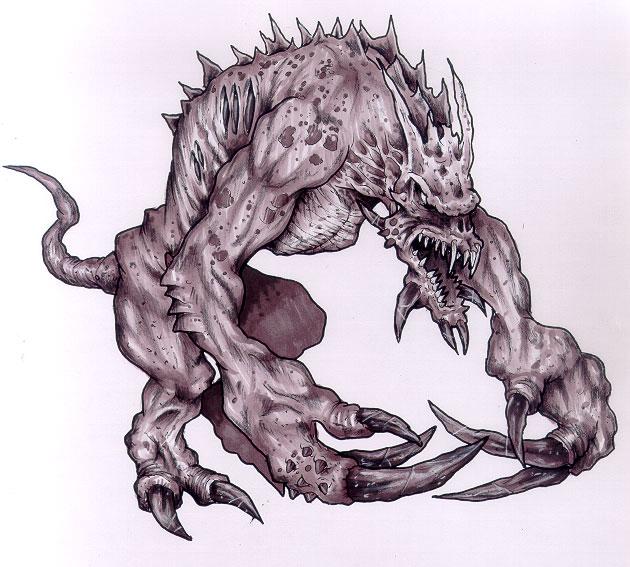 anndor deadlier deathclaws created - 630×567