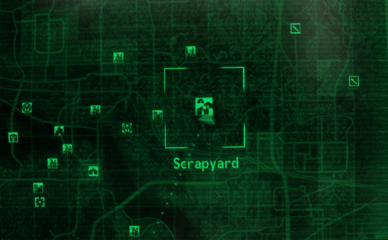 Syard - The Vault Fallout Wiki - Everything you need to ... on mass effect 3 map, mass effect 2 map, fallout bobbleheads map, skyrim map, gta 4 map, fallout 1 map, fable 3 map, national guard depot fallout map, far cry 3 map, complete fallout map, dark souls map, fallout map united states, fallout 2 map, elder scrolls oblivion map, dead island map, grand theft auto map, fallout faction map, red dead redemption map,