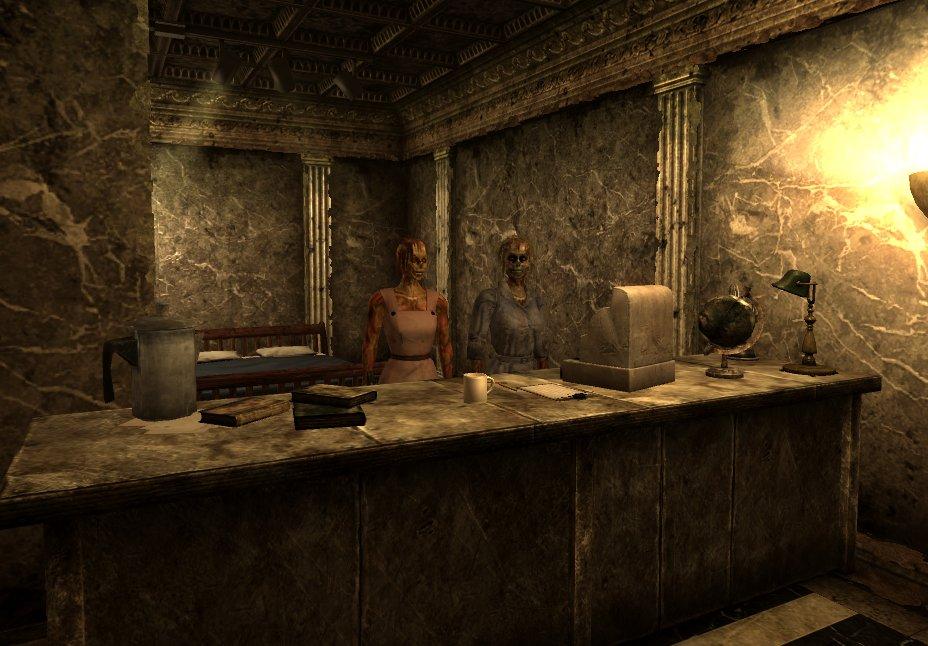 Fallout 3 you gotta shoot em in the head