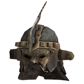 Marked beast face helmet.png