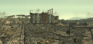 Fo3 Corvega Factory Outside.png