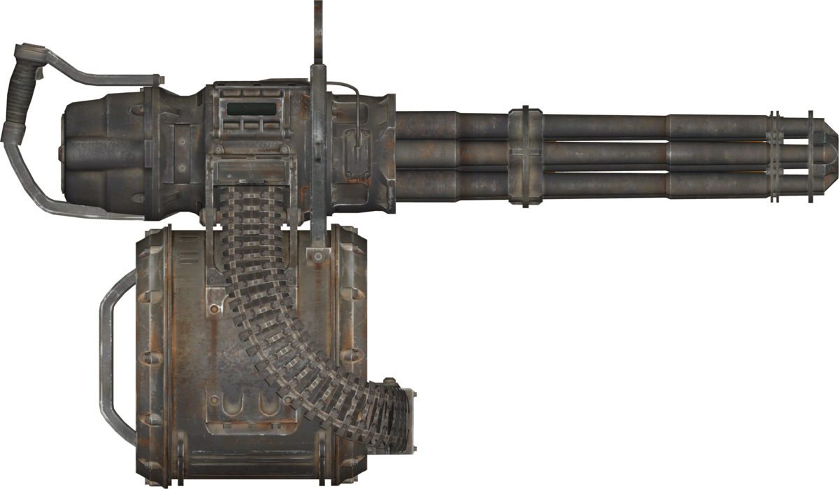 Minigun (Fallout 76) - The Vault Fallout Wiki - Everything