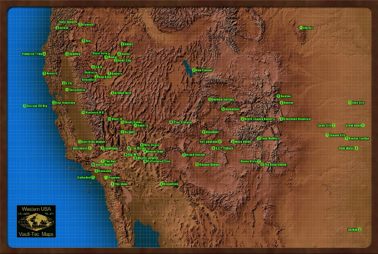 Mojave Wasteland - The Vault Fallout Wiki - Everything you need to ...