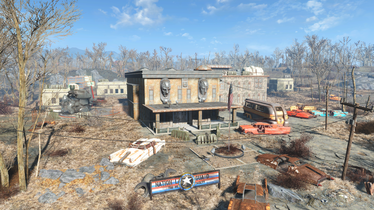 National Guard training yard - The Vault Fallout Wiki - Everything