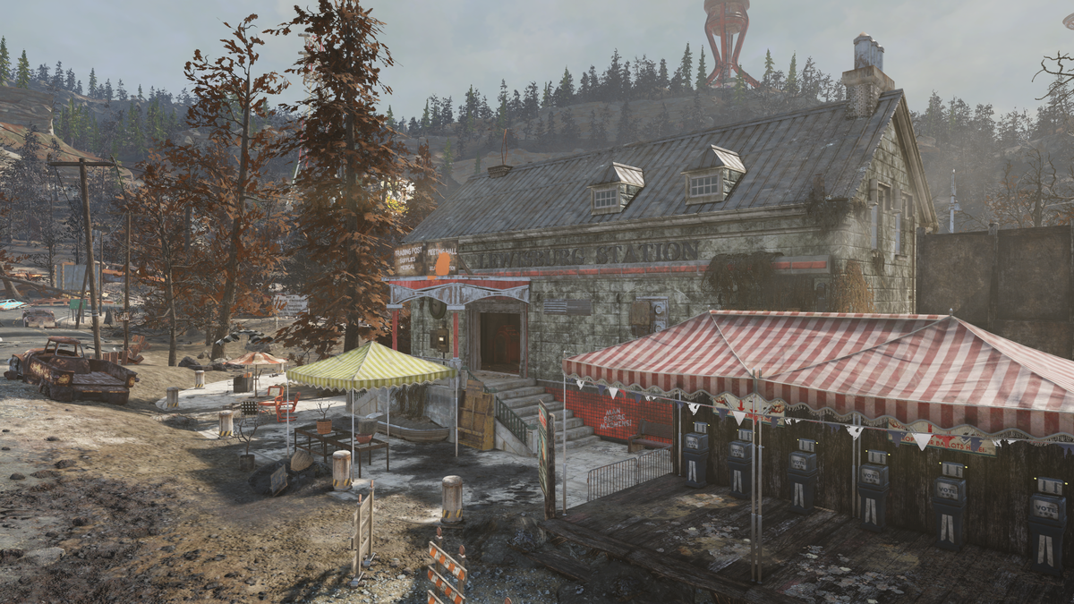 Lewisburg Station - The Vault Fallout Wiki - Everything you