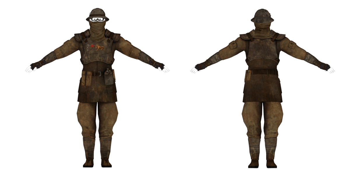 Ncr Facewrap Armor The Vault Fallout Wiki Everything You Need To