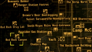 Red Rock Canyon - The Vault Fallout Wiki - Everything you ...