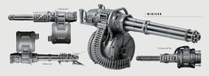 The Rockwell CZ-57 minigun