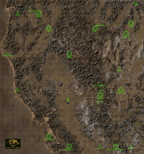 Fallout 2 locations - The Vault Fallout Wiki - Everything you need ...