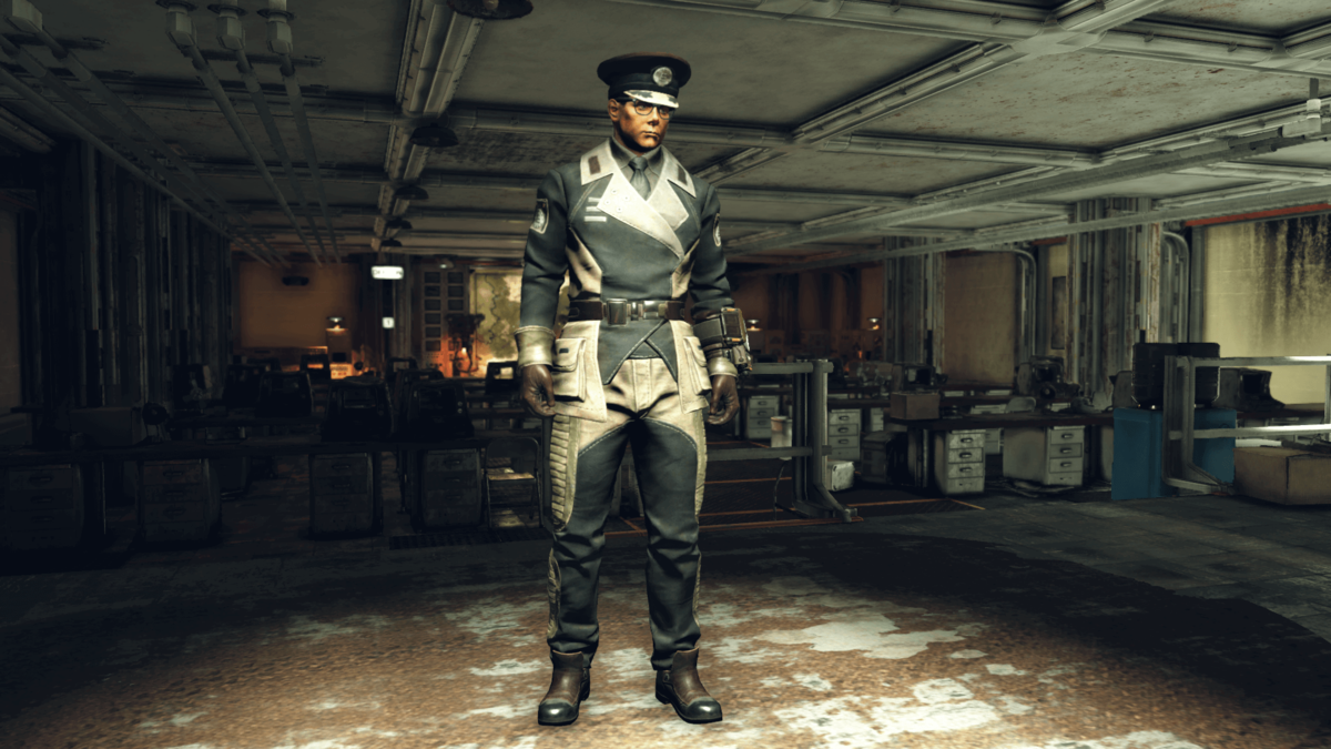 Enclave Officer Uniform (Fallout 76) - The Vault Fallout Wiki