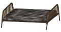 Queen size bed frame mattress.png