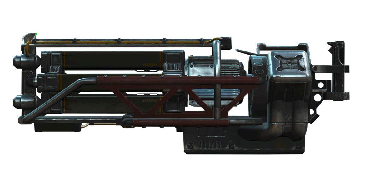 Gatling laser (Fallout 76) - The Vault Fallout Wiki